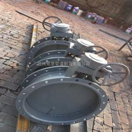 调节型电动风门 手动带涡轮箱圆风门厂家批发