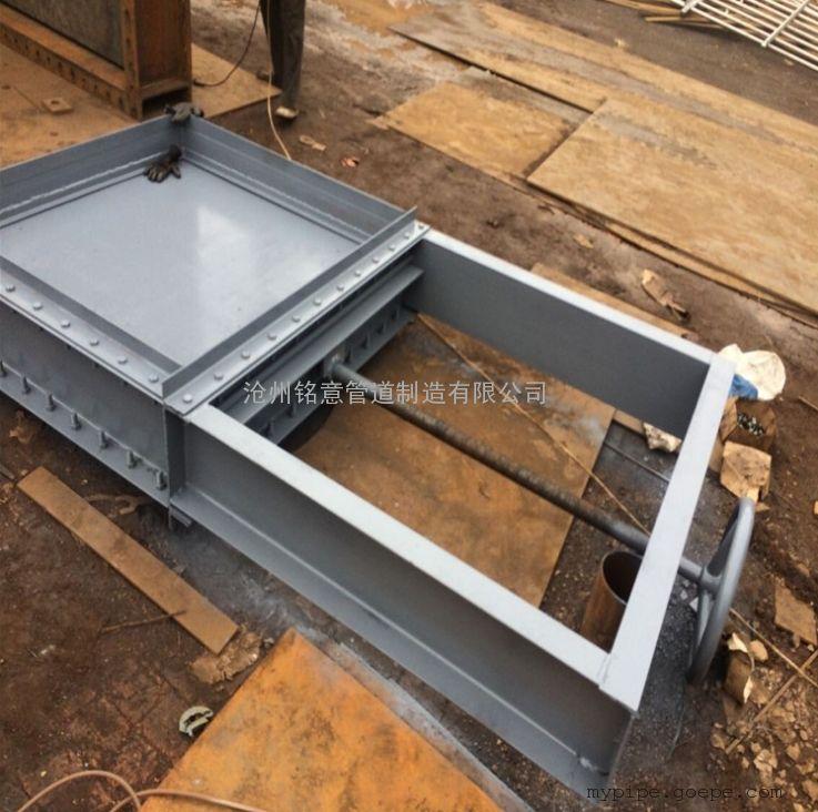 厂家供应优质电动烟风道挡板门 挡板门 脱硫挡板门 净烟气挡板门