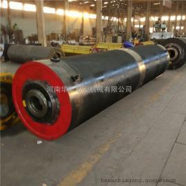 卧式机动叉车草绳卷筒 650*3000提高机打字机备件 销往北京北京
