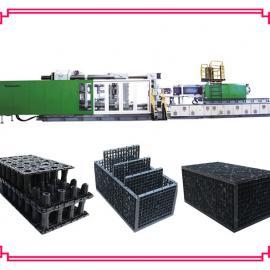 雨水收集模块生产设备 雨水收集模块机器 雨水收集模块注塑机