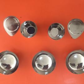 厂家专业生产加工定制铂金坩埚、白金坩埚、翻新铂金坩埚