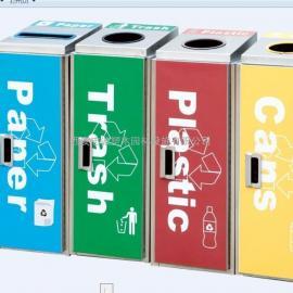 西安四分类环保垃圾桶果皮箱生产加工制作厂家就找西安志诚塑木