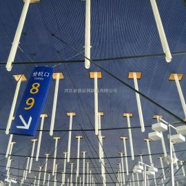 冲孔压型吸音吊顶板-镀锌穿孔瓦楞吸音底板-工程吊顶吸音板