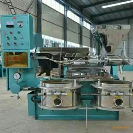 花生米加工榨油用全套设备 出油率高操作简单-光华牌螺旋榨油机