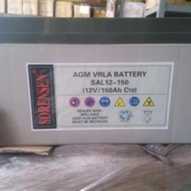 SORENSEN蓄电池SAL12-100/12v100ah索润森正品价格
