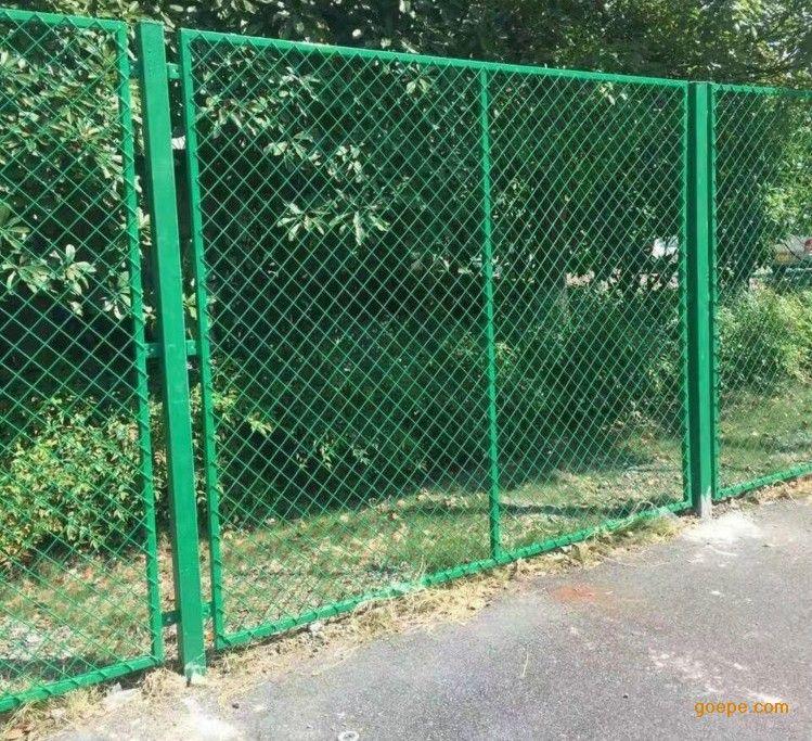 工业区围墙防护网 菱形孔钢板网围栏厂家批发