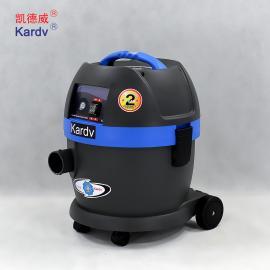 凯德威工业吸尘器,无锡工厂吸粉末铁屑用小型静音吸尘器价格