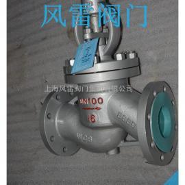 上海法兰截止阀J41H-16C切断或调节以及节流用