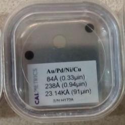 镍钯金镀层标准片Au/Pd/Ni/Cu