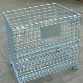 广州物流园周转箱-折叠式仓库笼