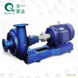 广州全一泵业PW卧式单级单吸不阻塞 悬臂式离心泵 抽排污水泵