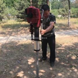 单人便携式原状土土壤钻机