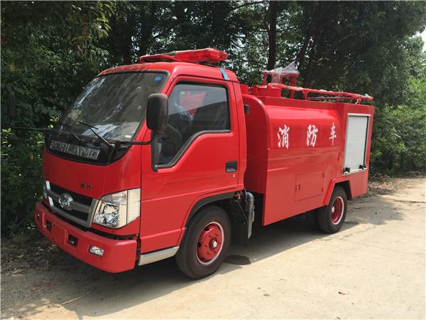 紧急消防用福田微型消防车农村路窄也能进