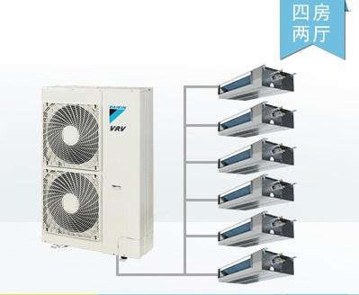 北京大金中央空调家用别墅户式家装系列销售厂家