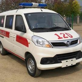 医院白衣天使都喜欢的福田伽途120急救车