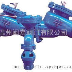 HS41X-16A过滤型倒流防止器 不锈钢过滤型倒流防止器