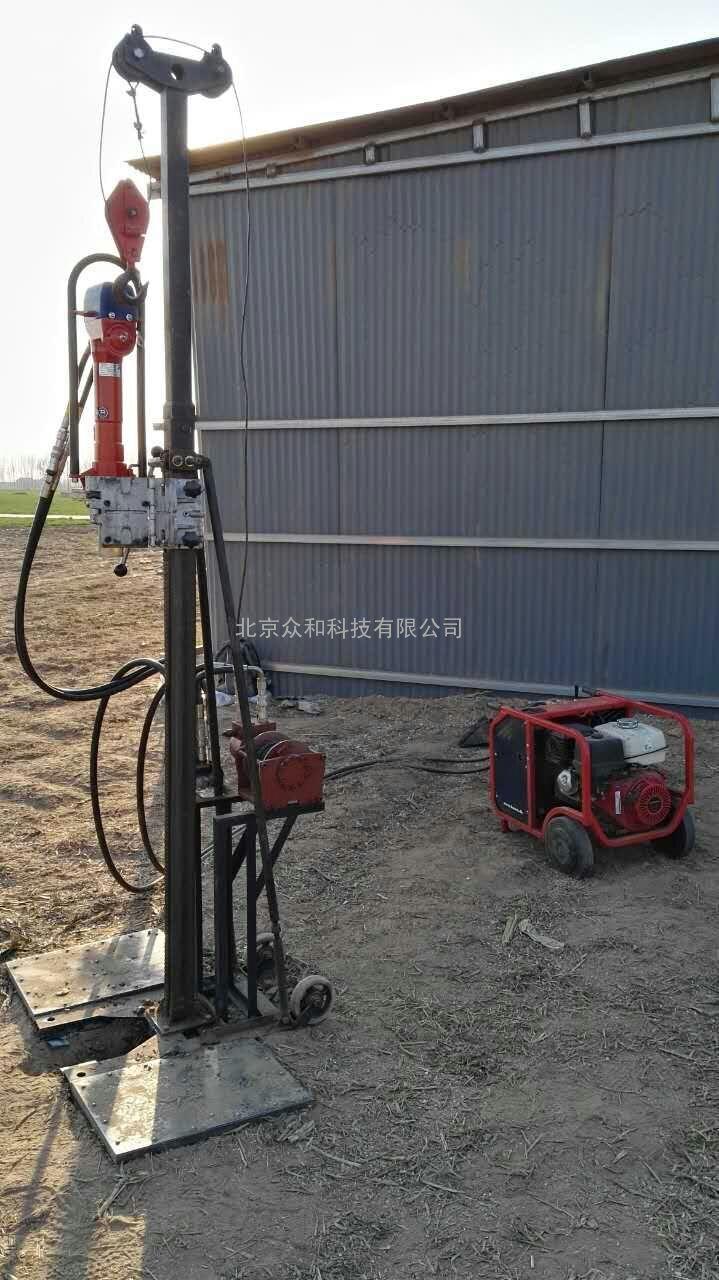 DSS直推式土壤取样钻机