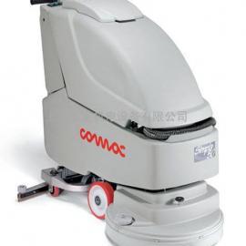意大利COMAC高美Simpla 50BT自走型全自动刷地洗地吸干机