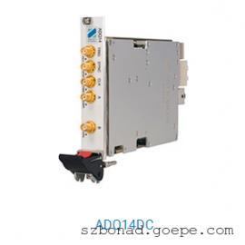 DC耦合2G内存500MS/s捕捉速率数据采集卡ADQ14DC-2A