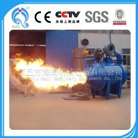 锅炉气化燃烧机 海琦工业稻壳炉