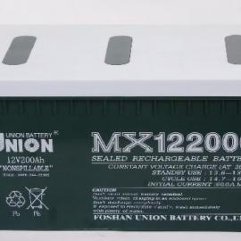 UNION友联蓄电池MX12650/12V65ah厂家直销