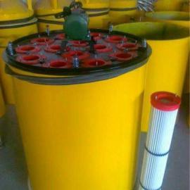 商砼混凝土水泥搅拌站 搅拌仓顶除尘器 滤筒式除尘器