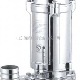 十博体育污水处理专用泵耐腐蚀不锈钢潜污泵