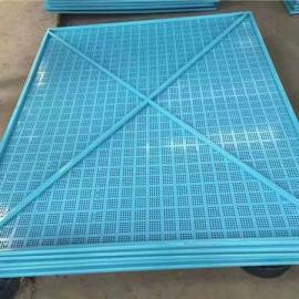 高层外墙钢板网片-爬架网片替代密目网-安全、环保、阻燃