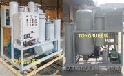 内蒙古煤化公司ZJC-R-100特制防爆透平油真空滤油机 品牌TR/通瑞
