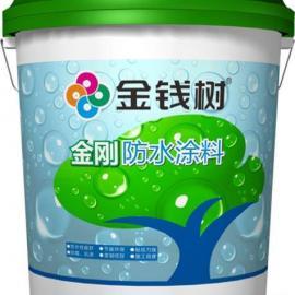 广东JS金刚防水涂料厂家批发供应K11聚合物防水建筑装饰厨房浴室