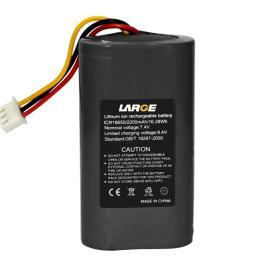18650 7.4V 2200mAh POS机锂电池组