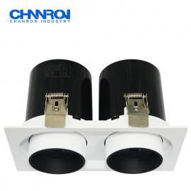 长隆商业照明定制款LED嵌入式可伸缩射灯 飞利浦原装驱动COB芯片