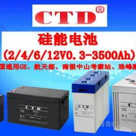 阀控拭铅酸/CTD蓄电池6GFM80 12V80AH金牌供应商
