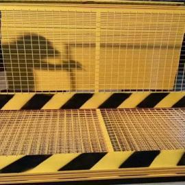 泥浆池围挡|定型护栏黄色围栏|基坑围挡|基坑防护栅栏安全生产