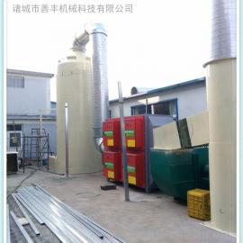玻璃钢脱硫除尘器、成本低重量轻的玻璃钢脱硫塔、脱硫塔直销