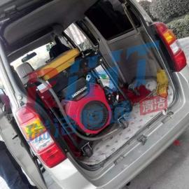 汽油驱动下水道疏通机物业高压疏通机小型移动管道疏通机