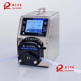 北京触摸屏全自动定时定量可调加液泵实验室好帮手加液器价格