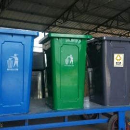河北环康240升铁垃圾桶专卖镀锌钢板防锈