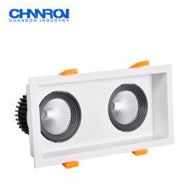 长隆商业照明LED格栅射灯 可定制各种款式功率色温 三年保修