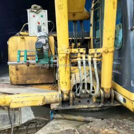 小型挖机镗孔机
