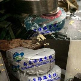 风机保温罩上海南泉定做易拆装式保温套