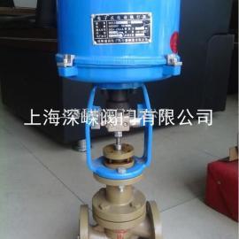 ZDLPF电动单座衬氟调节阀