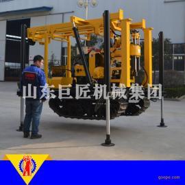 XYD-200履带式水井钻机200型岩心钻机重量轻省时省力