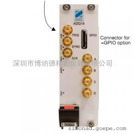 1.2GHz带宽四通道输入2G内存数据采集卡ADQ14AC-4A