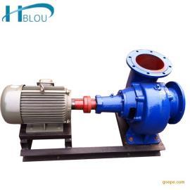 卧式混流泵100HW-8河道排污泵灌溉泵杂质泵循环泵