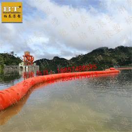 官厅水库垃圾治理浮筒直径40公分高效拦污排批发(图)