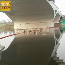 工厂批发塑料浮栏 水库泄洪专业塑料拦污排浮体厂家