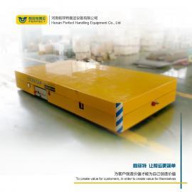 模具运输无轨搬运车重型过跨台车流水线周转电动平板车