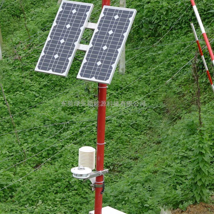 田间小型气象站 LED屏气象自动观测站