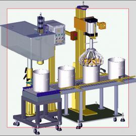 上海25升润滑油、切削液自动灌装机 价格优惠 品质稳定